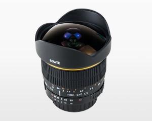 Bower 8mm f3.5 CSI Fisheye Lens for Nikon