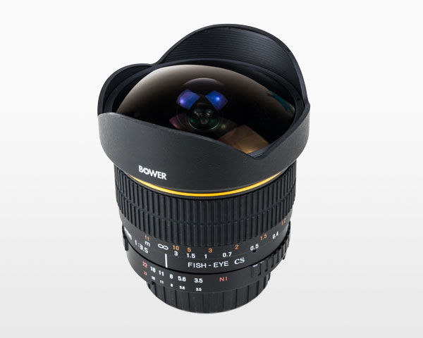 Bower 8mm f3.5 CSI Fisheye Lens for Nikon