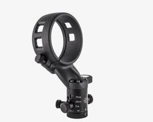 Ultralight Panohead for Samyang 8mm f3.5 Canon, Sony E & A, Samsung NX, Fuji X (+8°)