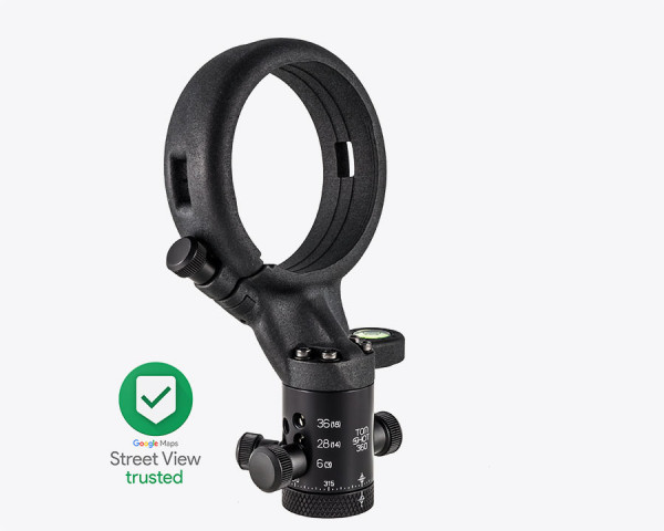Ultralight Panohead for Sigma 8mm f3.5 (+7.5°) for Google Trusted Photographers