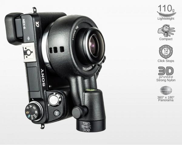 Ultralight Panohead for Yasuhara Madoka E & XF (+7°)